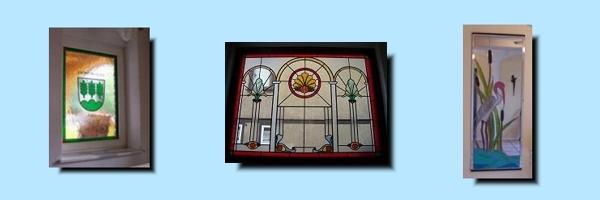 Referenzen Bleiornamentik Fenster