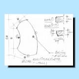 Shop f r kunsthandwerk und kunstma anfertigung for Schreibtischplatte buche